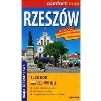 Hobby i poradniki, Comfort!map Rzeszów 1:20 000 midi plan miasta