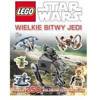 Książki dla dzieci, KSIĄŻKA LEGO® Star Wars™. WIELKIE BITWY JEDI