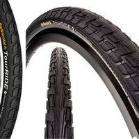 Opony i dętki do roweru, OPONA CONTINENTAL RIDE TOUR 26 X 1.75 CZARNA DRUT CO0101148