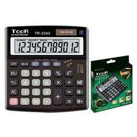 Kalkulatory szkolne, Kalkulator dwuliniowy 10-pozyc. TR-310DB-W TOOR