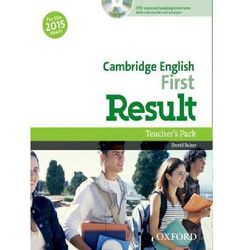 Cambridge English First Result Teacher´s Book with DVD D. Baker