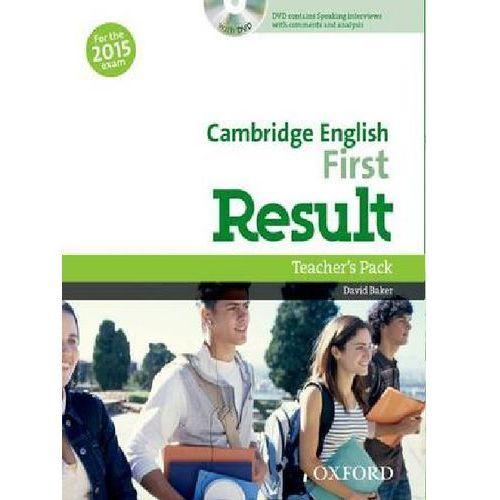 Audiobooki, Cambridge English First Result Teacher´s Book with DVD D. Baker