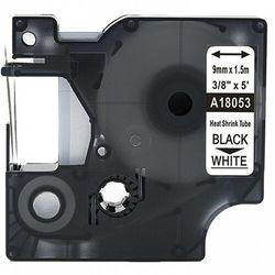 Rurka termokurczliwa DYMO Rhino 18053 9mm x 1.5m ø 1.7mm-3.7mm biała czarny nadruk S0718280 - zamiennik | OSZCZĘDZAJ DO 80% - Z