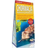 Mapy i atlasy turystyczne, Chorwacja Wybrzeże południowe; laminowany map&guide XL (2w1: przewodnik i mapa)