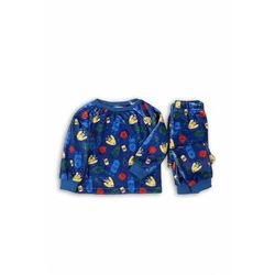 Piżama chłopięca niebieska 1W39AE Oferta ważna tylko do 2024-01-07
