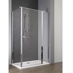 Radaway EOS II KDJ drzwi 110 prawe x ścianka 100 lewa wys. 195 cm szkło przejrzyste 3799423-01R/3799432-01L
