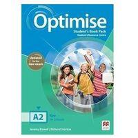 Książki do nauki języka, Optimise A2 Updated ed. SB + eBook + kod online (opr. broszurowa)