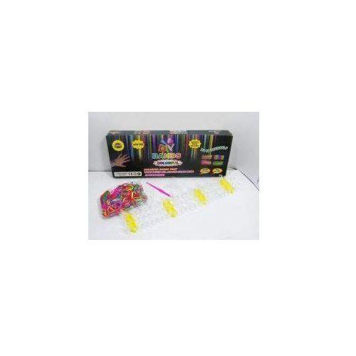 Kreatywne dla dzieci, Zestaw 600 gumek i krosno