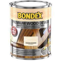Lakierobejca Bondex Premium Wood Design 12 lat dąb jasny 0,75 l
