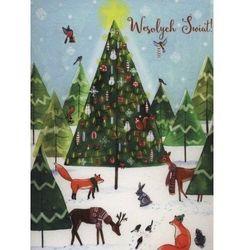 Kartka Boże Narodzenie. Zwierzaki. B6 - Henry OD 24,99zł DARMOWA DOSTAWA KIOSK RUCHU