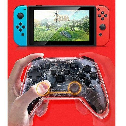 Gamepady, Baseus SW Motion Sensing   Gamepad kontroler bezprzewodowy bluetooth do Nintendo Switch Black Week -20% na wszystko (-20%)