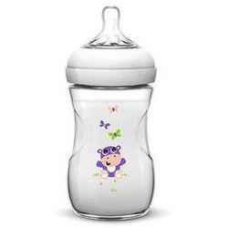 Butelka dla niemowląt Philips AVENT Natural 260 ml, hroch