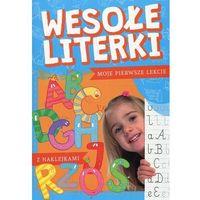 Książki dla dzieci, Wesołe literki z naklejkami - Porębski Stanisław, Bartoszewski Robert - książka