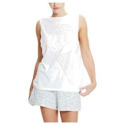 koszulka BENCH - Ice-Cream Burn Out Vest Bright White (WH11185) rozmiar: M