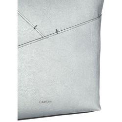 Calvin Klein LUNA Torba na zakupy silver