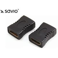 Kable, adaptery, taśmy, SAVIO ADAPTER HDMI (F) - HDMI (F) - PROSTY CL-111
