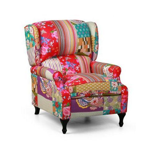 Fotele i krzesła biurowe, Fotel Patchwork RICH