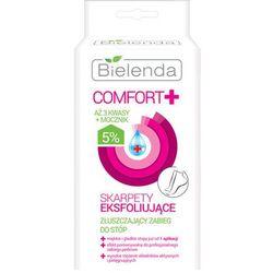 Bielenda Comfort+ skarpetki złuszczające zapewniające wygładzenie i nawilżenie stóp 2 x 20 ml