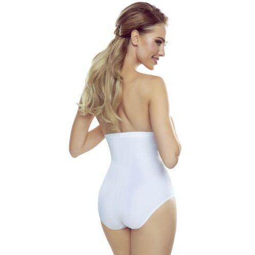 Bielizna wyszczuplająca, Viera majtki korygujące wysokie damskie Eldar Comfort Białe Jesienna 1 (-6%)