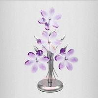 Lampy stołowe, GLOBO 5146 – Lampa stołowa dekoracyjna PURPLE 1xE14/40W