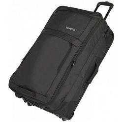 Travelite Basics torba podróżna na kółkach 78 cm / poszerzana / dwupłatowa / Black - Black