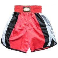 Pozostałe sporty walki, Spodenki bokserskie MASTERS - SBOX-3 - czerwony