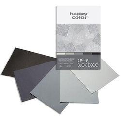 Blok A5/20K Deco Grey 170g HAPPY COLOR