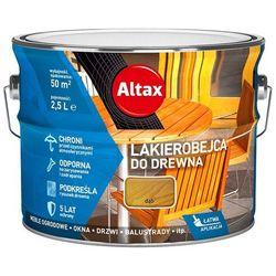 ALTAX- lakierobejca do drewna, dąb, 2.5 l
