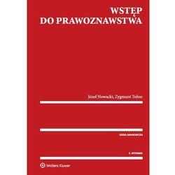 Wstęp do prawoznawstwa - Nowacki Józef, Tobor Zygmunt (opr. miękka)
