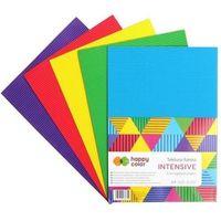 Pozostałe artykuły szkolne, Tektura falista a4/5k mix intensive happy color