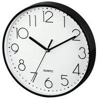 Zegary, Hama Zegar ścienny PG-220 czarny low-noise