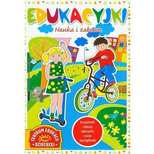 Książki dla dzieci, Nauka i zabawa edukacyjki (opr. miękka)