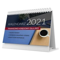 Kalendarz finansowo-księgowy 2021 w jsfp