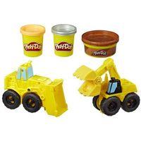 Kreatywne dla dzieci, Masa plastyczna Play-Doh Buldożer i Ładowarka