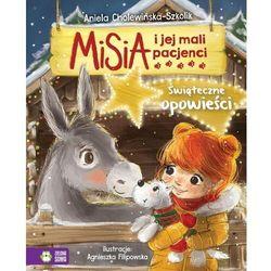 Misia i jej mali pacjenci świąteczne opowieści - aniela cholewińska - szkolik