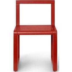 Krzesełko little architect czerwone