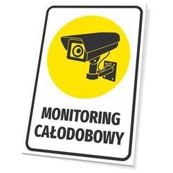 Tabliczka monitoring całodobowy