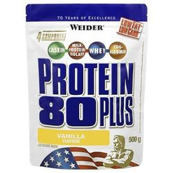 WEIDER Protein 80 Plus - 500g - Strawberry