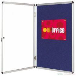 Gablota B-OFFICE tekstylna 67x93cm niebieska