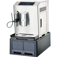 Ekspresy gastronomiczne, Ekspres do kawy z wysuwanymi szufladami, automatyczny, 1,35 kW, 240x440x520 mm | STALGAST, 486960