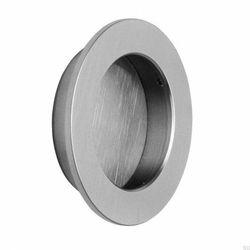 Uchwyt wpuszczany do drzwi przesuwanych 31050-80 Srebrny Stalowy