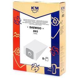 Worek do odkurzacza K&M D03 (5 sztuk)