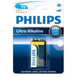12 x bateria alkaliczna Philips Ultra Alkaline 6LR61/9V