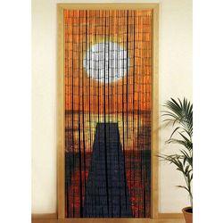 Zasłona bambusowa Zachód słońca, 90x200 cm, WENKO