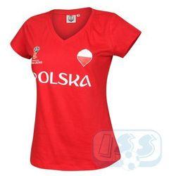 BPOL175w: Polska - koszulka damska World Cup 2018