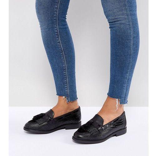 Pozostałe obuwie damskie, Dune London Wide Fit Goodness Flat Shoes - Black