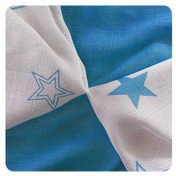 XKKO chusteczki bambusowe Stars 30x30 cm, 9 szt 28 x 39 cm Blue