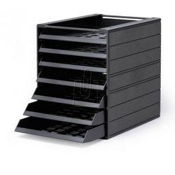 """Pojemnik z szufladami Durable Idealbox Basic 7 """"Blue Angel"""" 1712002058 antracyto"""