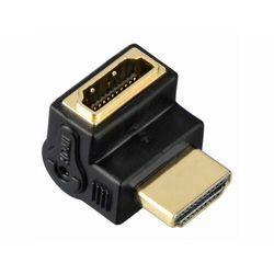 HAMA ADAPTER KĄTOWY HDMI GN. - HDMI WT.