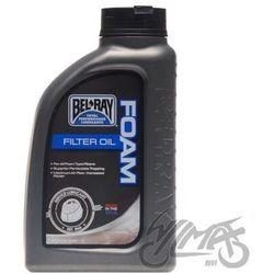Olej do filtrów powietrza gąbka foam bel-ray 1l